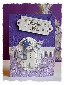 Edle Weihnachtskarten Basteln : weihnachtskarten basteln frohes fest karte mit schneemann ~ A.2002-acura-tl-radio.info Haus und Dekorationen