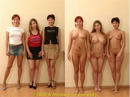 Nude Model Teen Undressing