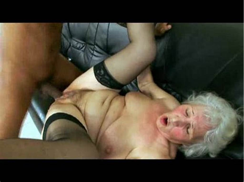 #Granny #Taking #Black #Cock #From #Young #Guy