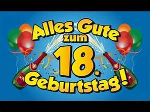 Geburtstagsbilder Zum 18 : rafael geburi 18 jahre jung youtube ~ A.2002-acura-tl-radio.info Haus und Dekorationen