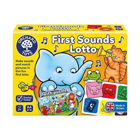Orchard Toys Lauamäng: Helid ja hääled | Muud mänguasjad ...
