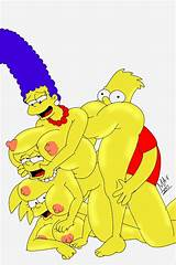 Lisa simpson and bart simpson orgy