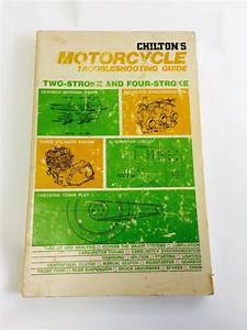 Chilton U0026 39 S Motorcycle Troubleshooting Guide Book 2 Stroke 4