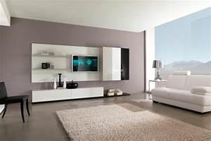 Farben Fürs Wohnzimmer Wände : moderne wandfarben 40 trendige beispiele ~ Bigdaddyawards.com Haus und Dekorationen