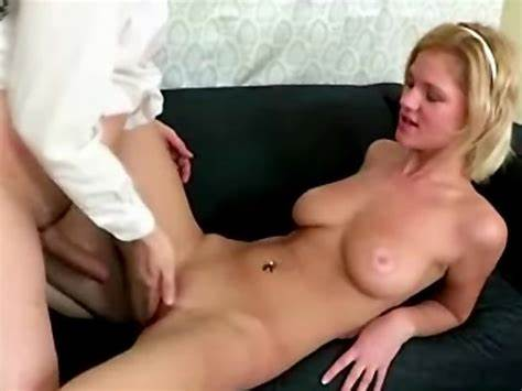 Naughty Gloria Shows Trimmed Puss