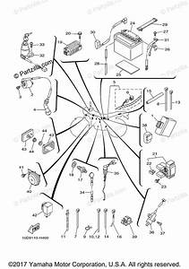 Yamaha Motorcycle 2018 Oem Parts Diagram For Electrical