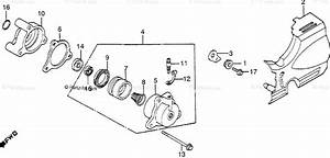 Honda Motorcycle 1983 Oem Parts Diagram For Clutch Slave