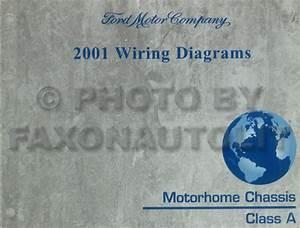 2001 Ford Econoline Van  U0026 Club Wagon Wiring Diagram Manual Original
