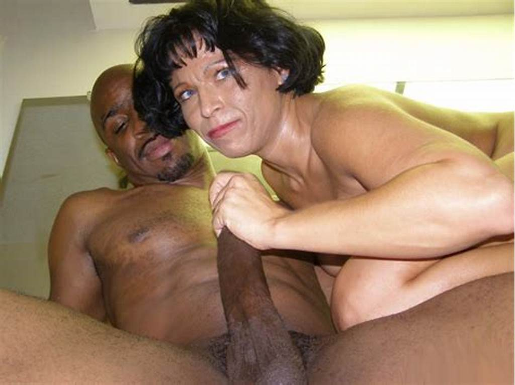 #Mature #Housewife #Bambi #Gives #A #Monster #Black #Dick #An