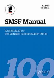 Smsf Manual