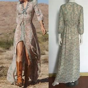 robe longue boheme chic grande taille robe classique With robe boheme chic grande taille