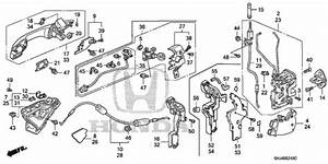 2010 Honda Odyssey Parts Diagram