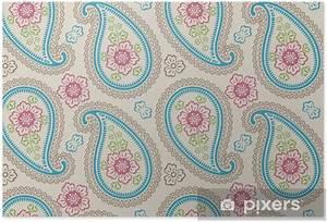 Paisley Muster Stoff : poster paisley stoff nahtlose muster pixers wir leben ~ Watch28wear.com Haus und Dekorationen