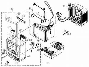 Cabinet Parts Diagram  U0026 Parts List For Model 13vtr100