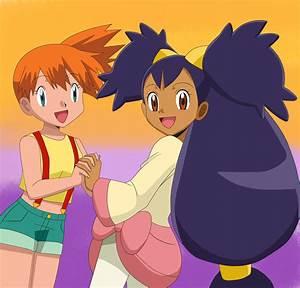 Pokemon fanart - Misty and Iris colored by Aquamimi123 on ...
