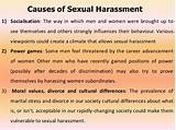 Cuses of sexual harassment