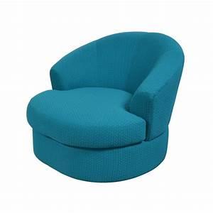 Fauteuil Bleu Turquoise : fauteuil pivotant tissu vert drimmer boisetdeco nord ~ Teatrodelosmanantiales.com Idées de Décoration