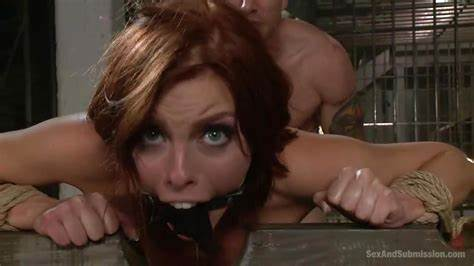 Red Haired Kinky Shemale Banged Shecock Sucked