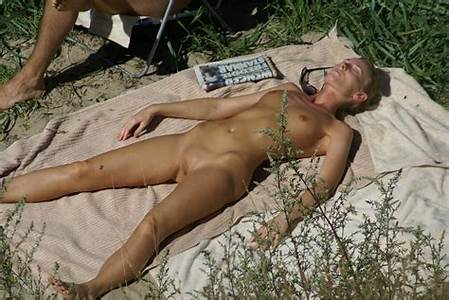 Sunbathing Nude Teenage