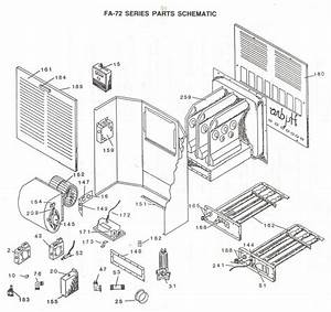 Atwood Furnace Parts View