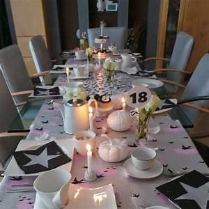 Tischdeko Zum Geburtstag : naturally me tischdeko zum 18 geburtstag ~ Watch28wear.com Haus und Dekorationen