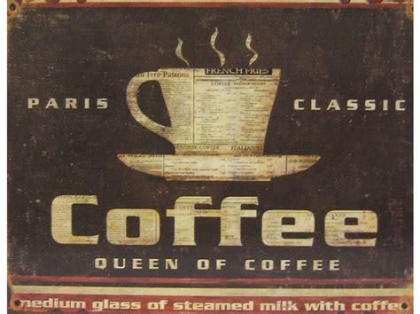 736 x 736 jpeg 82 кб. Paris Classic Coffee Tin Wall Sign   Shop Hobby Lobby   Coffee tin, Wall signs, Tin walls