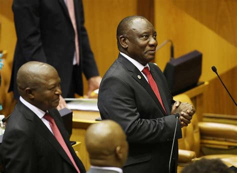 We have been in frequent contact with our allies, and we are marshaling the. WATCH LIVE | President Cyril Ramaphosa delivers state of ...