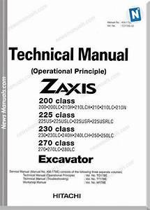 Hitachi Zx200 270 Technical Man Operation Prin