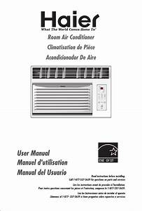 Haier Air Conditioner Hwr06xc6 User Guide
