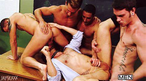 Student Gangbang With Male