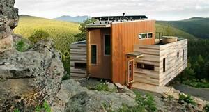 Container Haus Architekt : im containerhaus wohnen ein haus aus holz und stahl ~ Yasmunasinghe.com Haus und Dekorationen
