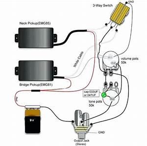 Emg Hz Bass Wiring Diagram