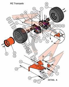 Bad Boy Mower Part  2017 Mz  U0026 Mz Magnum Transaxle Assembly