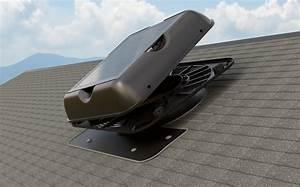 Hood Removal Guide For The Sr1800 Series Solar Attic Fan