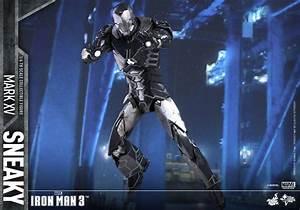 Iron Man 3 Mark XV Sneaky Armor by Hot Toys - The Toyark ...