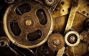 Mechanism gears nuts steampunk wallpaper | 1920x1200 ...