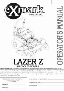 Exmark Lazer Z Hp Parts Diagram