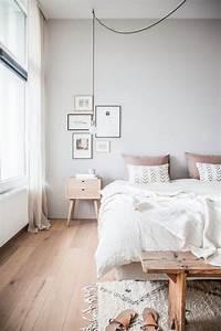 Deco Rose Pale : d co chambre gris et rose pour un int rieur serein et doux ~ Teatrodelosmanantiales.com Idées de Décoration
