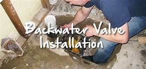 Beware Of Risks Involved In Backwater Valve Installation