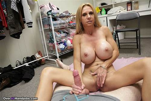 Comely Solid Tit Mature Gives Good Sucks #Big #Boob #Mom #Brooke #Jerking #Her #Step #Son