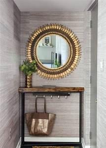 quel miroir d39 entree choisir pour son interieur jolies With porte d entrée pvc avec grand miroir mural salle de bain