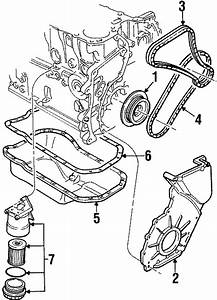 1996 Volkswagen Passat Wagon Engine Crankshaft Pulley