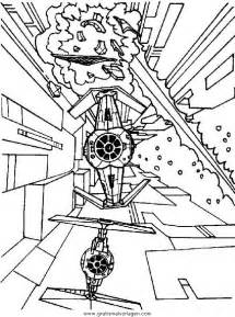 Tie Fighter Coloring Page At Getdrawings Com