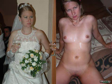 Bride And Even Slutty Grannies Squeamish Braless Brides Pic W