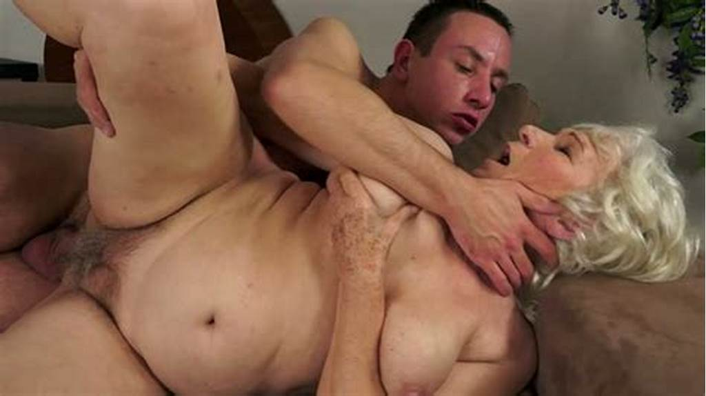 #Dissolute #Granny #Norma #Gets #Her #Hairy #Snatch #Hammered #In