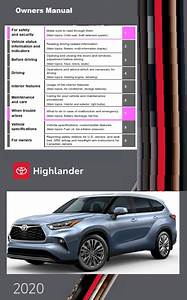 2020 Toyota Highlander Owners Manual Free Download Free