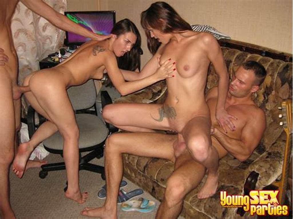 #Guys #And #Girls #In #Exciting #Foursome #Young #Sex #Party