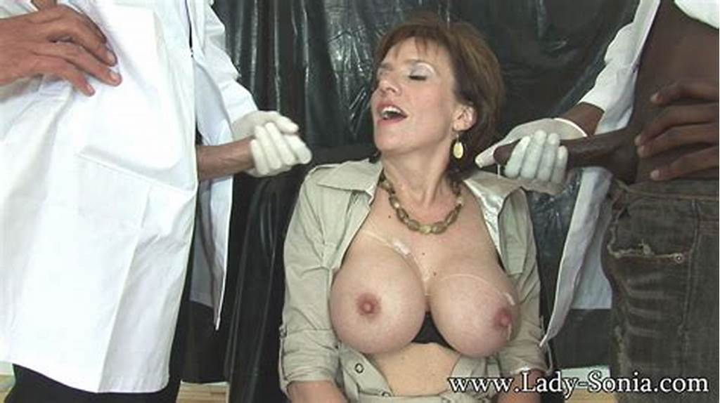 #Milf #Lady #Sonia #And #Her #New #Black #Male #Slave