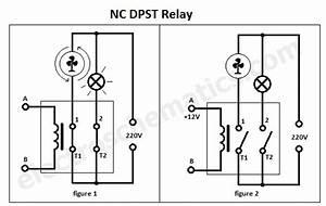 No Nc Relay Wiring