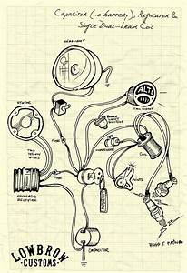 Lowbrow Customs Motorcycle Wiring Diagram Wiring Diagram